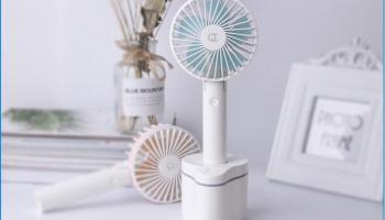 80% Korting Draadloze draagbare Ventilator voor €9,95 bij 6deals