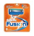 61% Korting Originele Gillette Fusion 8-pack Scheermesjes voor €16,95 bij Voordeelvanger