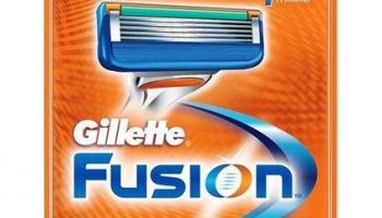 58% Korting Originele Gillette Fusion 8-pack Scheermesjes voor €17,95 bij Voordeelvanger