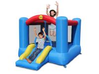 33% korting op Happy Hop Slide & Hoop Springkussen incl. Luchtblazer bij iBOOD