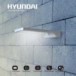 76% Korting Ultradunne Hyundai LED Solar Buitenlamp met Bewegingssensor voor €21,99 bij Koopjedeal