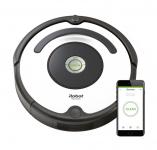 39% Korting iRobot Roomba 675 Wifi Robotstofzuiger Zilver Zwart bij iBOOD