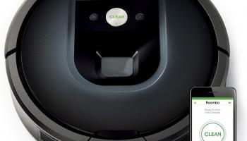 65% Korting iRobot Roomba 980 Robotstofzuiger bij iBOOD