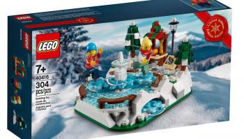 GRATIS LEGO IJsbaan bij elke aankoop vanaf €150 bij LEGO