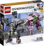 43% Korting LEGO Overwatch D.Va & Reinhardt voor €33,95 bij iBOOD