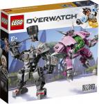43% Korting LEGO Overwatch D.Va & Reinhardt bij iBOOD