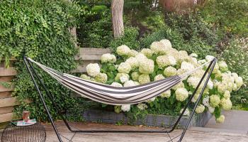 69% Korting Lifa Garden Hangmat met Standaard bij iBOOD
