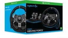 63% Korting met kortingscode Logitech G920 Driving Force Zwart Xbox One PC voor €146,78 bij Amazon.fr