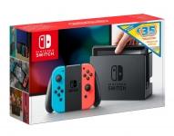 €34 Korting Nintendo Switch Neon met €35 eShop tegoed voor €295 bij Bol.com