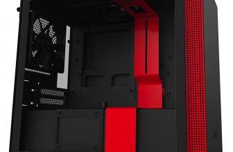 20% Korting NZXT-behuizing voor gaming-pc's Non i-Series H210 Zwart / Rood voor €72,49 bij Amazon NL
