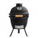 Patton Kamado Grill 13 inch Houtskoolbarbecue – Zwart