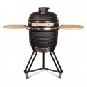 Patton Kamado Grill 20 inch Houtskoolbarbecue – Zwart