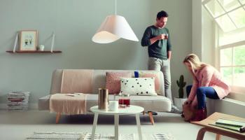 60% Korting Philips Ecru Design Hanglamp Dimbaar voor €19,95 bij Daystunt