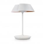 80% Korting Philips InStyle Nonagon Houten Tafellamp Wit bij iBOOD
