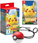 57% Korting Pokémon Let's Go Pikachu met Poké Ball Plus voor €47 bij Amazon Duitsland