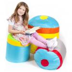 48% korting op Pushbag Oxford Cupcake Set – Regenboog voor €99 bij ikwilzitzakken.nl