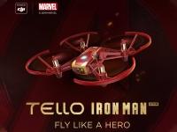 43% Korting Ryze Tello by DJI Drone Iron Man Editie voor €79,95 bij iBOOD