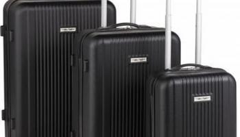 75% Korting 3-delige Luxe ABS Kofferset voor €99,99 bij Koopjedeal