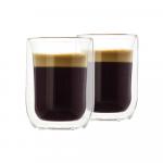 Gratis 2 Luxe Dubbelwandige 130 ml Glazen t.w.v. €21,99 bij Koffievoordeel
