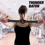 77% Korting Thunder Baton Borstversteviger Fitness Staaf voor €4,50 bij Wilpe