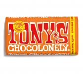 Gratis Tony's Chocolonely Melkchocolade Karamel Zeezout bij Koffievoordeel