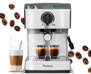 53% Korting Turbotronic Zespresso Koffiemachine TT-CM15 voor €89,99 bij GroupDeal