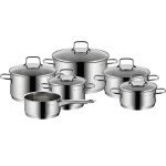 48% Korting 6x WMF Astoria 18/10 Cromargan Pan bij iBOOD