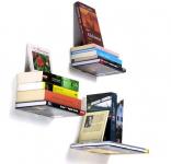 60% korting Twee 'zwevende' boekenplanken voor €11,99 bij Groupon