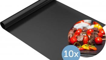 49% Korting 10x Non-Stick BBQ/Grill Mat bij iBOOD