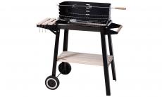 Robuuste barbecue met in hoogte verstelbare grill voor  €47,49 bij Groupon