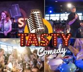Tasty Comedy met 4-gangendiner €26,99 bij Groupon