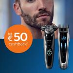 Tot €50 Cashback Male Grooming bij Philips