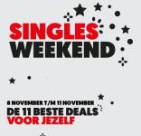 Tot €50 Korting met 11 deals met Singles Weekend bij MediaMarkt