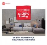 Tot 20% Korting op bank, bed, woonaccessoire of lamp met Woondeals bij Wehkamp