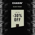 Tot 30% Korting met Black Friday Sale bij CHASIN'