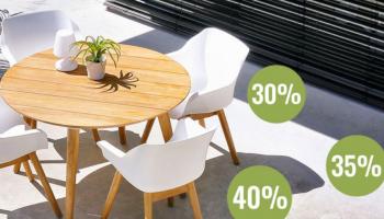 Tot 40% Korting Outlet bij Bogaart Tuinmeubelen