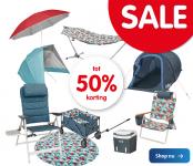 Tot 50% Korting met Sale voor Campingproducten voor leden bij ANWB