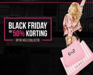 Tot 50% Korting op alles + 30% Extra kortingscode met Black Friday bij Hunkemöller