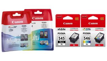 Tot 50% Korting Originele Canon inkt cartridges voor vanaf €26,95 bij Groupon