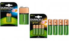 Tot 51% korting Duracell oplaadbare batterijen bij Groupon