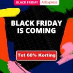 Tot 60% Korting met Black Friday bij Aliexpress