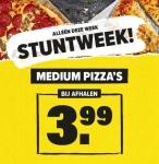 Tot 64% Korting op Medium Pizza's tijdens stuntweek voor €3,99 bij Domino's