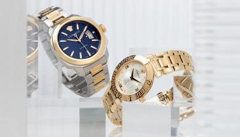 Tot 64% Korting op 97 Versace Dameshorloges en Herenhorloges voor vanaf €219 bij Zalando Lounge