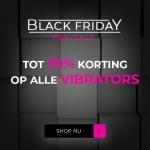 Tot 70% Korting op alle Vibrators met Black Friday Pre-Sale bij DeSexShop