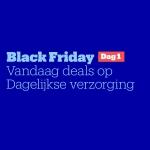 Tot 70% Korting op Dagelijkse verzorging met Black Friday Day 1 bij Bol.com
