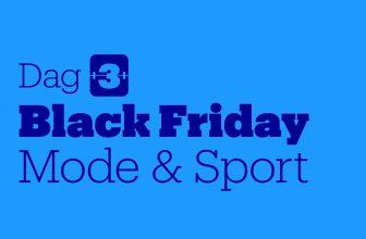 Tot 70% Korting op Mode en Sport met Black Friday 2020 Dag 3 bij Bol