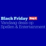 Tot 70% Korting op Spellen en Entertainment met Black Friday Day 4 bij Bol.com