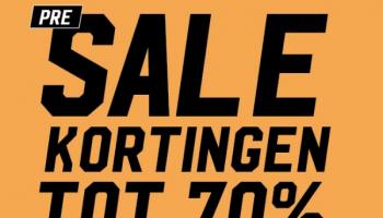 Tot 70% Pre Sale Kortingen bij Aktiesport