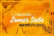 Tot 71% Korting op luxe hotels en vakanties met Zinderende Zomer Sale bij Secret Escapes