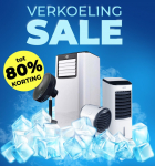 Tot 80% Korting op 11 verkoelende producten tijdens de Verkoeling Sale voor vanaf €24,95 bij Voordeelvanger